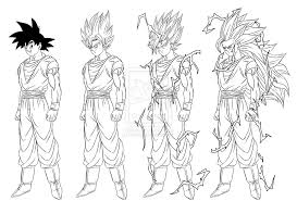 Coloriage Dragon Ball Z Coloriage Dragon Ball Z With Coloriage