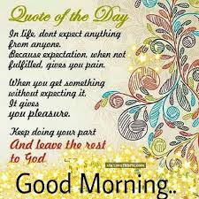 Good Morning Quotes Of The Day Best Of Good Morning Quote Of The Day FB 24242416 Good Morning Quotes