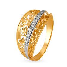 Tanishq Ring Size Chart Tq Mia Rings Titan