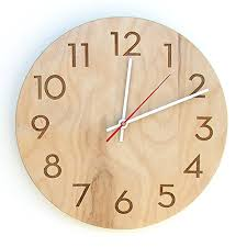 Large office wall clocks Large Decorative Natural Birch Handmade Modern Wall Clock The Architects Guide The 25 Best Modern Wall Clocks The Architects Guide