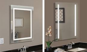 mirror frame. LED Lighted Mirrors Are Ready To Install And Hang In Either Direction Fit Your Space. Mirror Frame