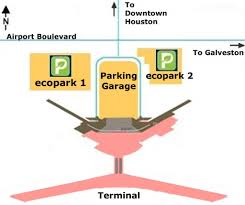 airport parking map  houstonhobbyairportparkingmap