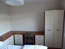 corner bedroom furniture. MFI Bedroom Furniture Set, Chest Of Drawers, Desk With Two Side Drawers Corner Unit C