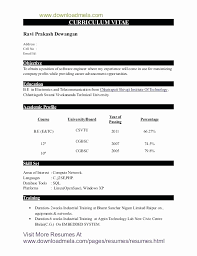 ... Resume format for Freshers Mechanical Engineers Pdf Inspirational Sample  Resume Civil Engineering Fresher Resume format for ...