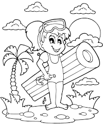 For kids & adults you can print summer or color online. Summer Coloring Page Printable Picture