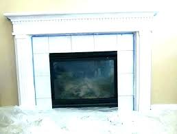 redo fireplace with stone redo fireplace with stone veneer refacing painted stone fireplace makeover