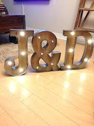 wood letters michaels light up letters freestanding initials wooden rustic led light up letters letter lights wood letters michaels