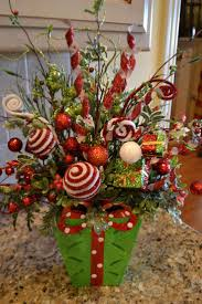 Whimiscal Christmas Flower Arrangements | Whimsical Green Present ...