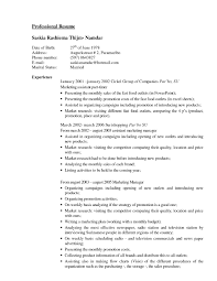 Burger King Resume