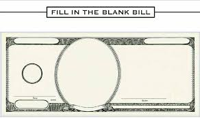Money Bill Template 25 Images Of Funny Money Template Photoshop Bfegy Com