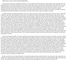 explanatory essay pin explanatory essay example lesson versus explanatory mythology at com