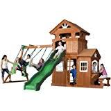 DenverFixitcom  Swing Set U0026 Play Set Installations Assemblies Big Backyard Ashberry Wood Swing Set
