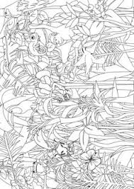 Small Picture Rainforest colouring page fantastic site lots of free activity
