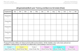 Exercise Program Templates Template For Exercise Program Woodnartstudio Co
