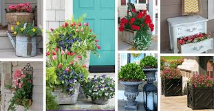 45 charming porch planter ideas that will give your exterior a unique look
