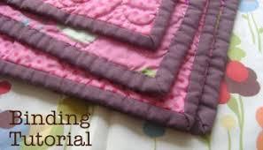 Fast Machine Quilt Binding 101 - Diary of a Quilter - a quilt blog & Quilt Binding Tutorial Adamdwight.com