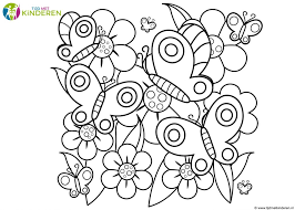 Ilde Bloemen Kleurplaat Bloemen En Vogels Tropicalweather