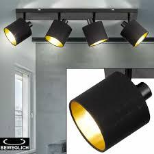 Decken Lampe Stoff Spots Verstellbar Wohn Schlaf Zimmer