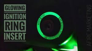 Glowing <b>Car Ignition Switch</b> Insert: Illuminated <b>Key Hole</b>! - YouTube