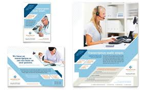 Full Page Newspaper Ad Template Medical Health Care Print Ads Templates Design Examples