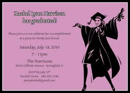 Custom Graduation Party Invitations Female Graduation Party