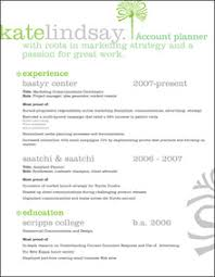 Account Planner Resumes Advergirl Advertising Resume Makeovers Part 2