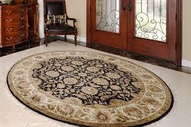 best type of rug for front door shape