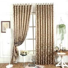Luxury Brown Bird Nest Design Curtains For Bedroom Living Room ...