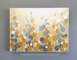 on yellow and grey wall art canvas with mustard yellow and grey wall art textured painting abstract