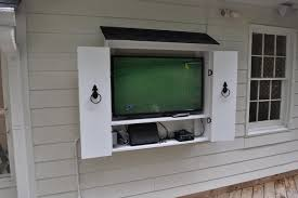 outdoor tv cabinet diy home design ideas