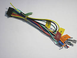 pioneer stereo cd dvd screen wire harness avh pdvd new bull  pioneer avh p3200dvd wire harness new a