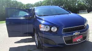 2014 Chevy Sonic LT Sedan Walkaround by Runde Auto Group - YouTube