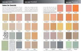 Davis Concrete Color Chart Davis Colors Bikeoffers Co
