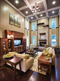 Two Story Living Room Decorating Featured Community Toll Brothers At Oak Creek Maryland Toll