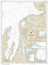 Little Bay De Noc Depth Chart Noaa Chart Grand Traverse Bay To Little Traverse Bay Harobr Springs Petoskey Elk Rapids Suttons Bay Northport Traverse City 14913