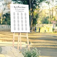 042 Template Ideas Welcome Wedding Seating Chart In Four