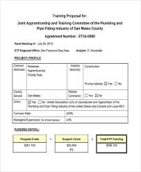 17 Training Proposal Examples Pdf Doc Psd Ai Examples