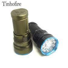 Tinhofire 20000 lumens 12t6 led flashlamp 12 xcree xm l t6 chiến thuật xách  tay led đèn pin săn bắn đèn torch g12|lampe torche|led flashlampled  flashlight - AliExpress