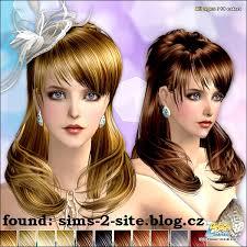 účesy ženy Rubrika Simsáči A Simsáčky