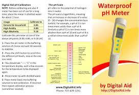 Ph Meter Calibration Manuals For Tds Ec Tds 3 Ph Meters Digital Aid