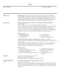 Sample Objectives For Resumes Basic Objective For Resume Aiditanme 86