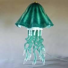 jellyfish light fixture jellyfish lamp glass jellyfish light fixture