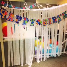 office birthday decorations. Medium Image For Obnoxious Office Birthday Decorations Happy Co Worker Themed