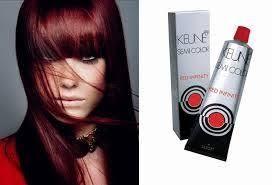 Keune Red Hair Color Chart Keune Semi Color Silsoft Hair Color 7 46ri Medium Infinity