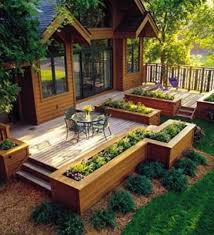 Small Picture Raised Bed Garden Designs Terrace Garden Creative Raised Bed