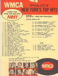 Old Top 40 Charts 1957 Wmca Survey In 2019 Music Charts Music Radio Song List