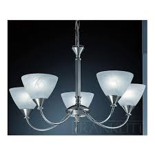pe9675 786 meridian 5 light ceiling light brushed nickel