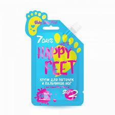 7 DAYS <b>Крем для пяточек и</b> пальчиков ног HAPPY FEET BABY ...
