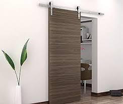 bd fss satin nickel brushed stainless steel sus304 modern barn wood sliding door hardware