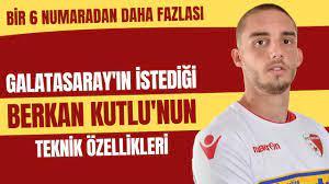 Galatasaray'ın istediği Berkan Kutlu'nun teknik özellikleri | Bir 6  numaradan daha fazlası - YouTube